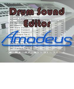 """""""Amadeus"""" Drum-Editor"""